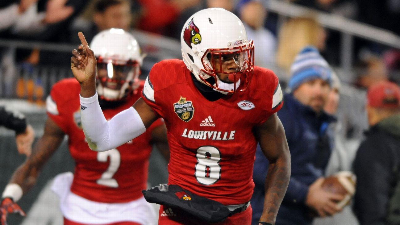 Louisville Cardinals QB Lamar Jackson s legend becoming reality 0211afab3