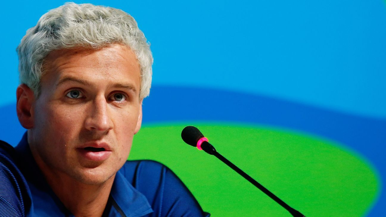 2016 Rio Olympics -- Ryan Lochte takes 'full responsibility' for 'overexaggerated' robbery story