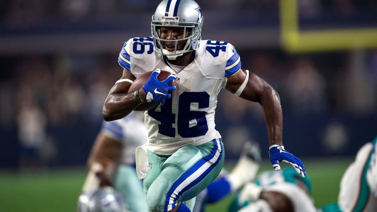 best cheap 95752 5b485 Dallas Cowboys RB Alfred Morris calls his free agency ...