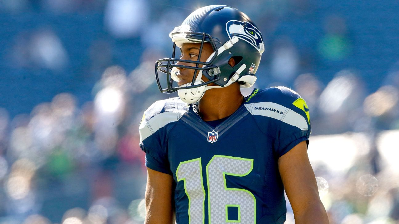 lowest price 67c97 75c2b Seattle Seahawks Tyler Lockett turning away fear to seize ...
