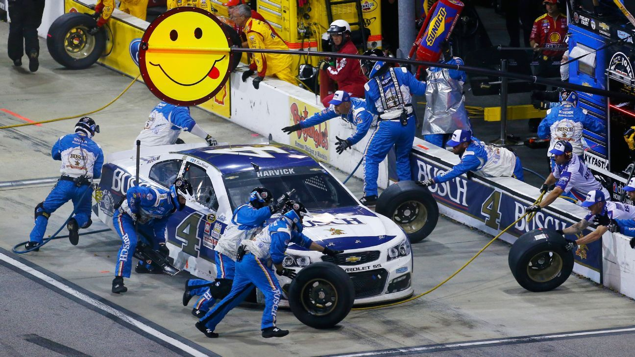 Kevin Harvick Critical Of Pit Crew Performance Swaps 2 Members With