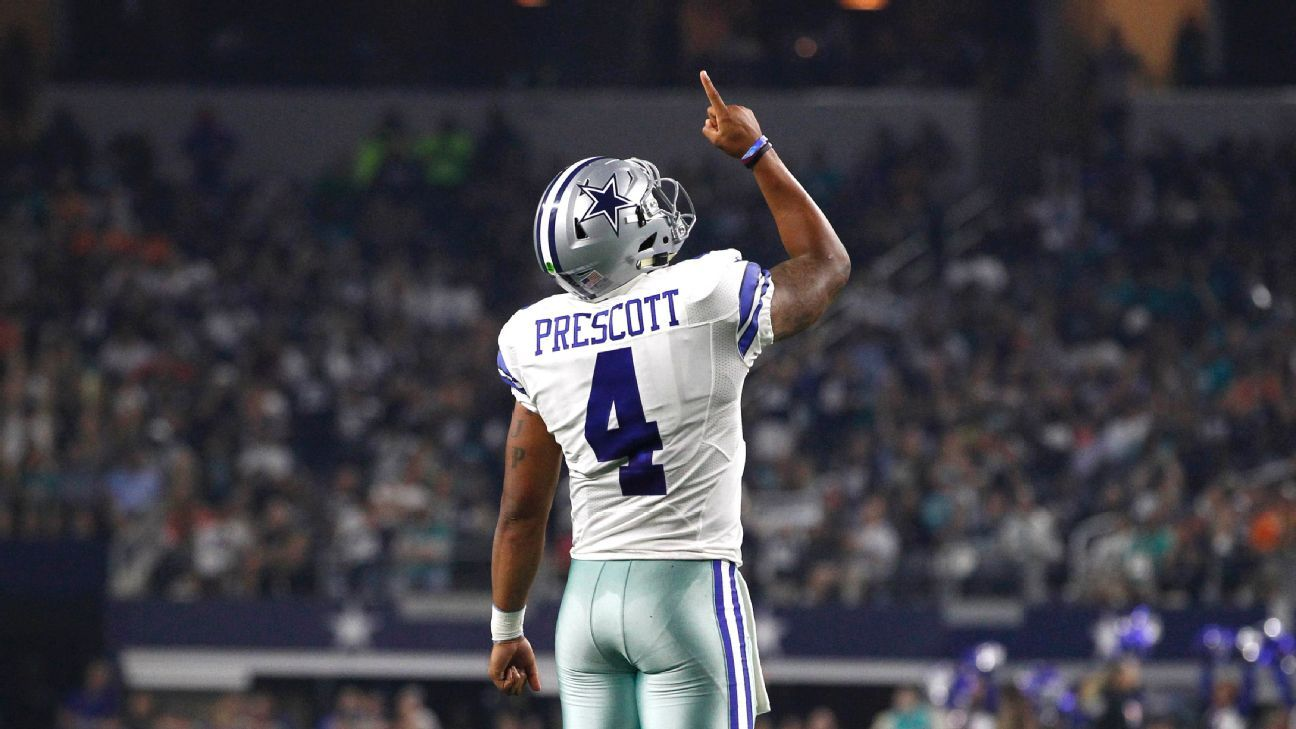 check out a3f2d c2a8f Dallas Cowboys' Dak Prescott carries mother's strength with ...