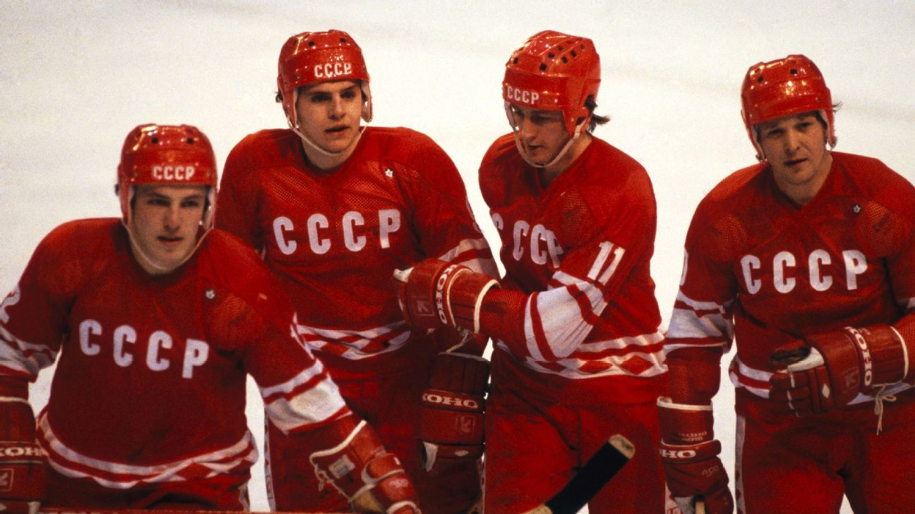 NHL - World Cup of Hockey -- Why 1980 Soviet Union squad was greatest  international hockey team of all time 09f14664f9e