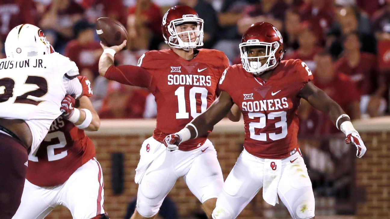 Sources tell ESPN that Oklahoma is blocking quarterback Austin Kendall from being immediately eligible at West Virginia as a grad transfer next season.