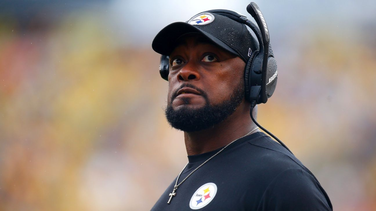 Pittsburgh Steelers' Mike Tomlin emphatically ends speculation about interest in college football openings