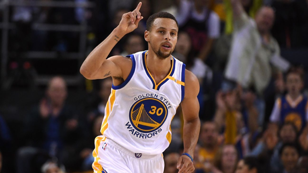Under the new CBA, Golden State Warriors guard Stephen Curry could get a deal worth more than ...