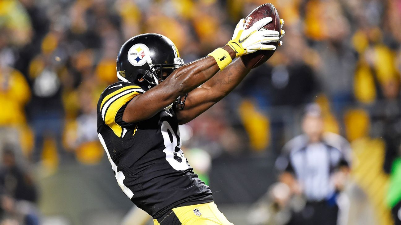 Pittsburgh Steelers Wr Antonio Brown Appeals 24k Fine For Celebration