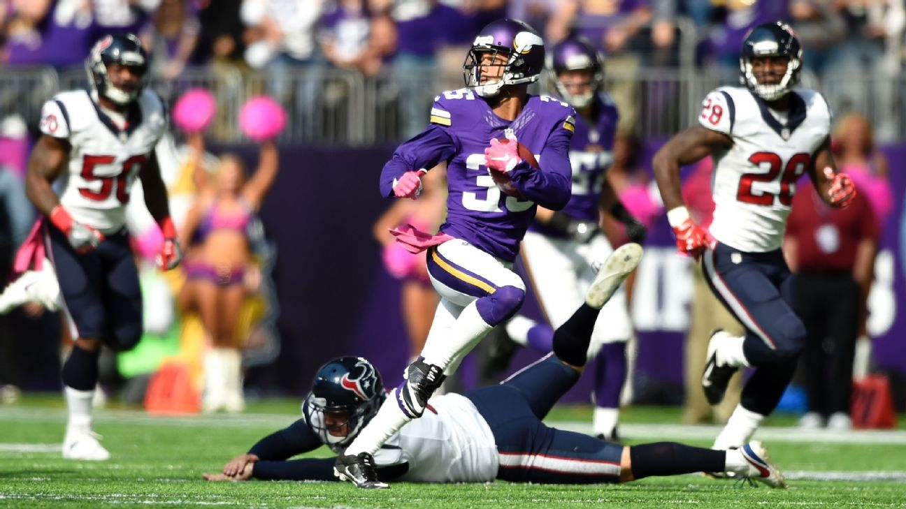 Reports: Saints reach deal with ex-Viking Sherels