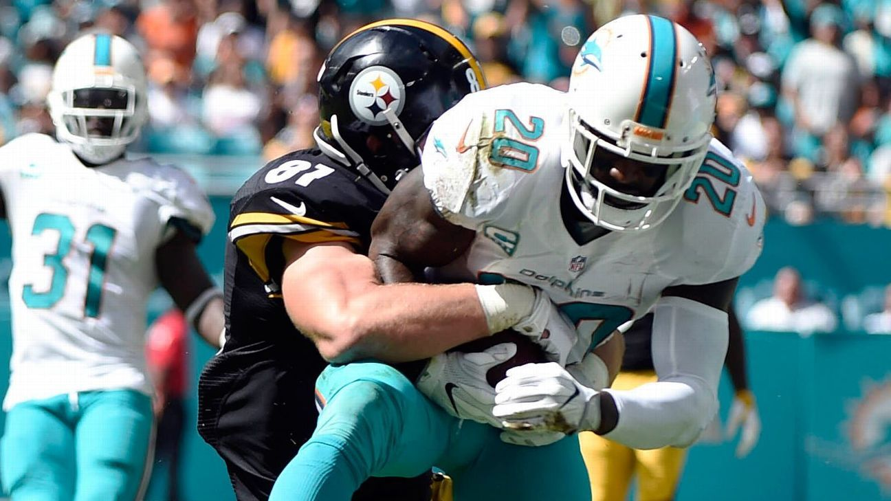 Steelers torn apart by Dolphins, and the Patriots are up next