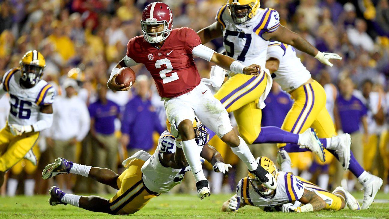 Alabama Tide makes its point by shutting down LSU Tigers ... again - SEC  Blog- ESPN 7abeb0ff1