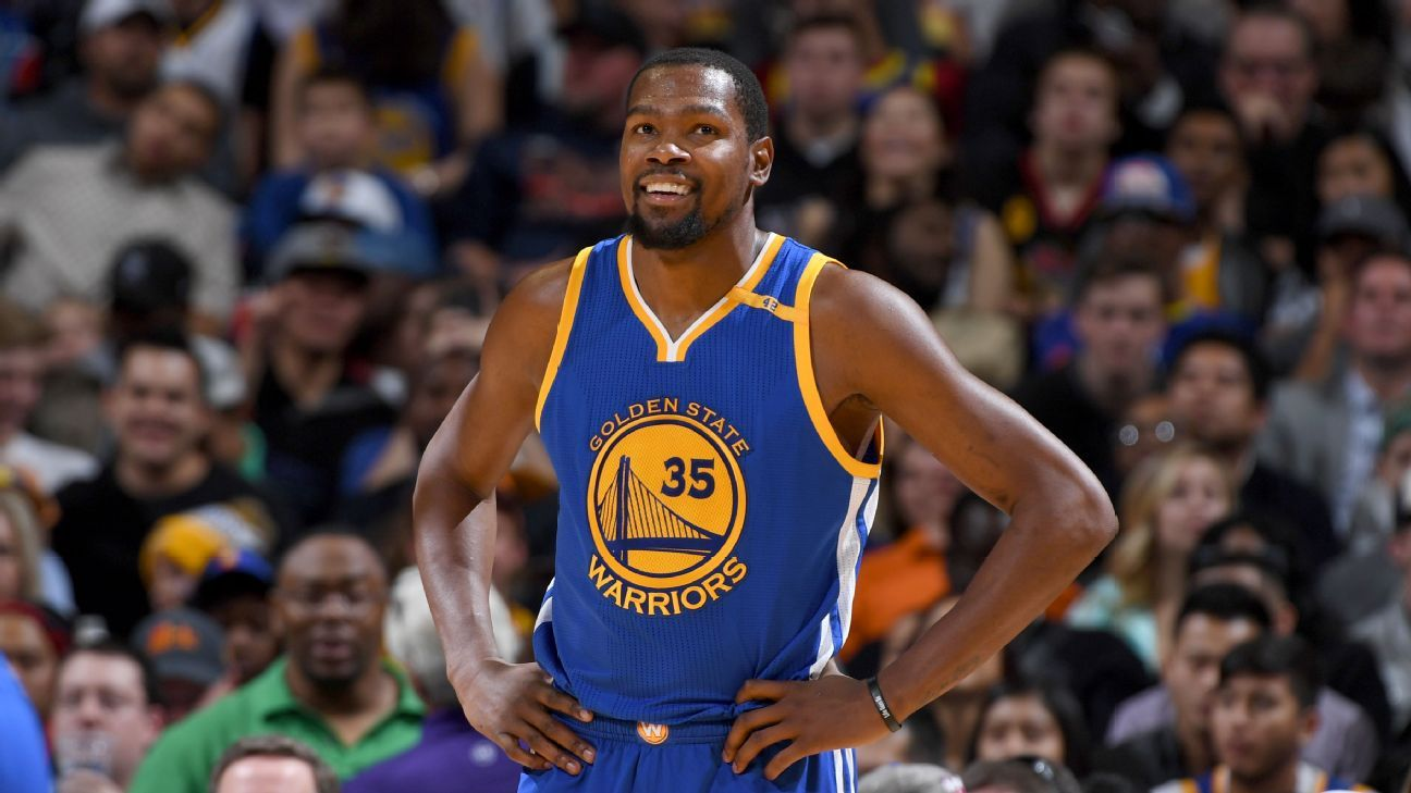 98961de3600 Warriors  Kevin Durant  Celtics made impressive pitch - Golden State  Warriors Blog- ESPN