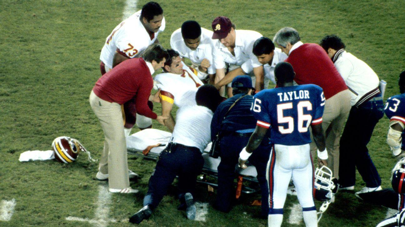 Lawrence Taylor remembers Joe Theismann's injury - 'I've