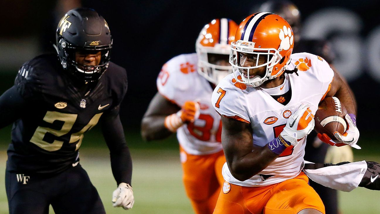 Acc College Football Playoff Hopes Rest With Clemson