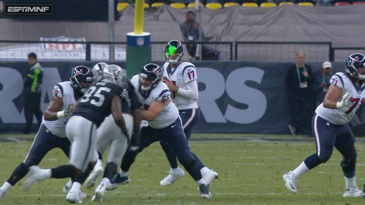 Created At 2016 11 22 1314 Sepatu Tactical Delta 6 Inch Sj0021 Charlotteobservercom Brock Osweiler Of Houston Texans Says Laser From Stands Very Distracting During Loss To Oakland Raiders In Mexico City