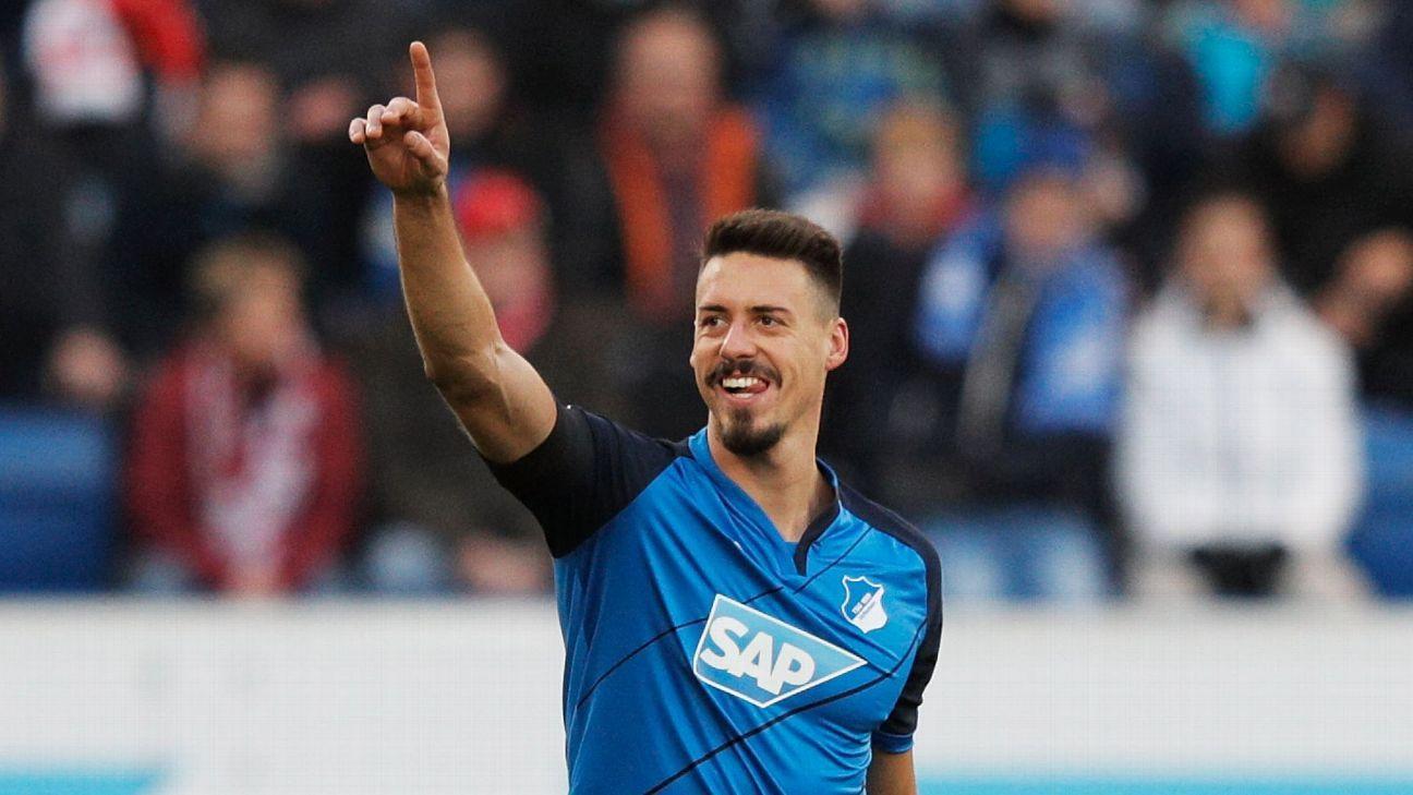 Hoffenheim Striker Sandro Wagner I Am Germany S Best Attacker By A