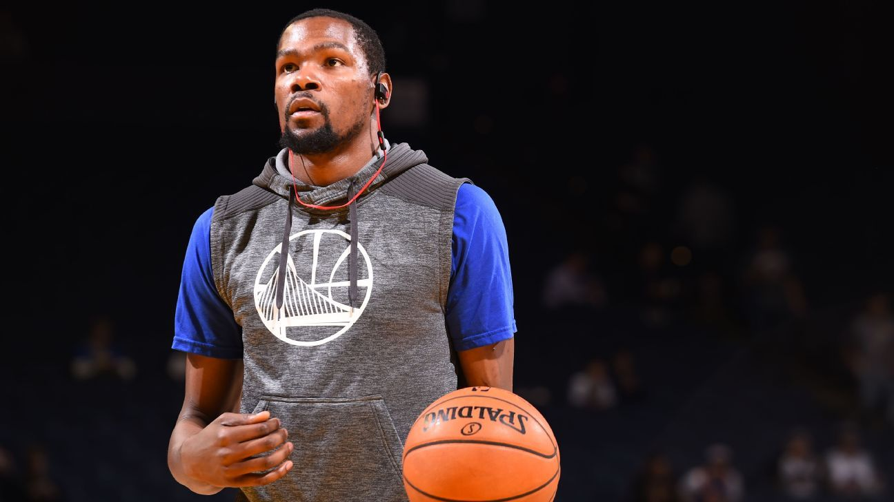 Kevin Durant to travel with Golden State Warriors on ...