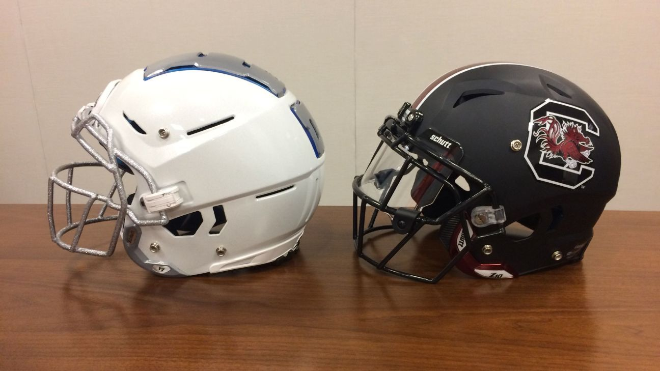 d9e6d3c27b1 Uni Watch on the aesthetics of the new Schutt F7 helmet