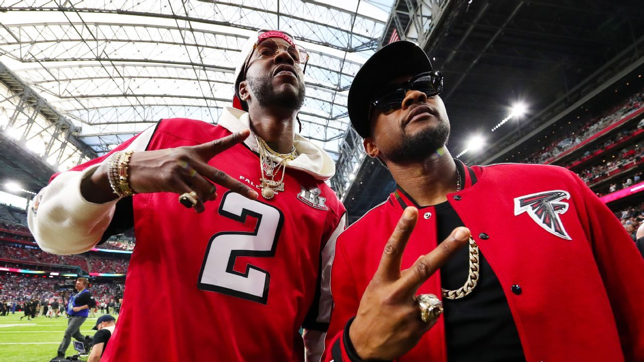 Falcons coach Dan Quinn: Rapper 2 Chainz part of 'The