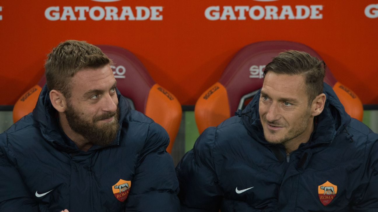 Luciano Spalletti wants Francesco Totti and Daniele De Rossi to extend Roma  deals