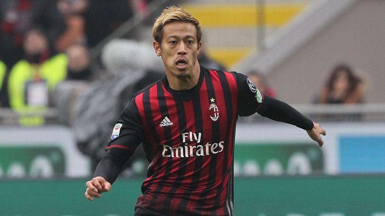 Keisuke Honda training with Orange County amid links to MLS move