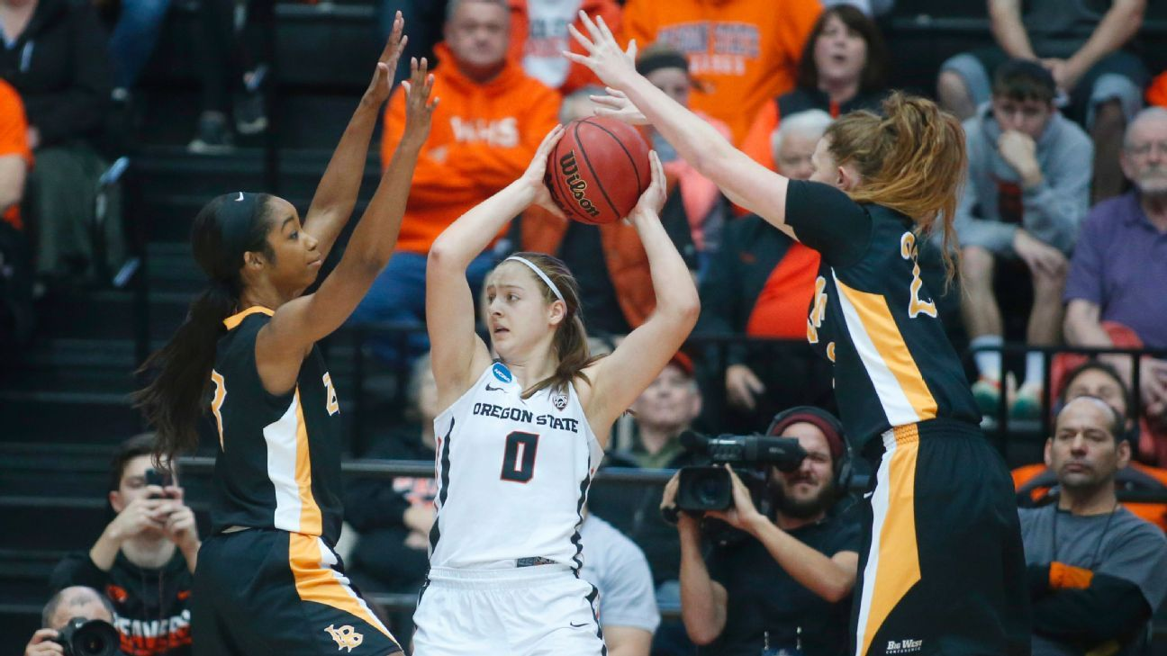 129791e6c Women s NCAA tournament - No. 2 seed Oregon State Beavers escape ...