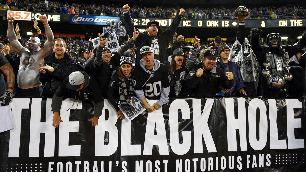 Rob Rivera, co-founder of Black Hole section of Raiders fans, dies of COVID-19