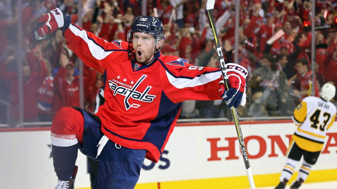 d17a128fcf2 Washington Capitals re-sign center Evgeny Kuznetsov to eight-year ...
