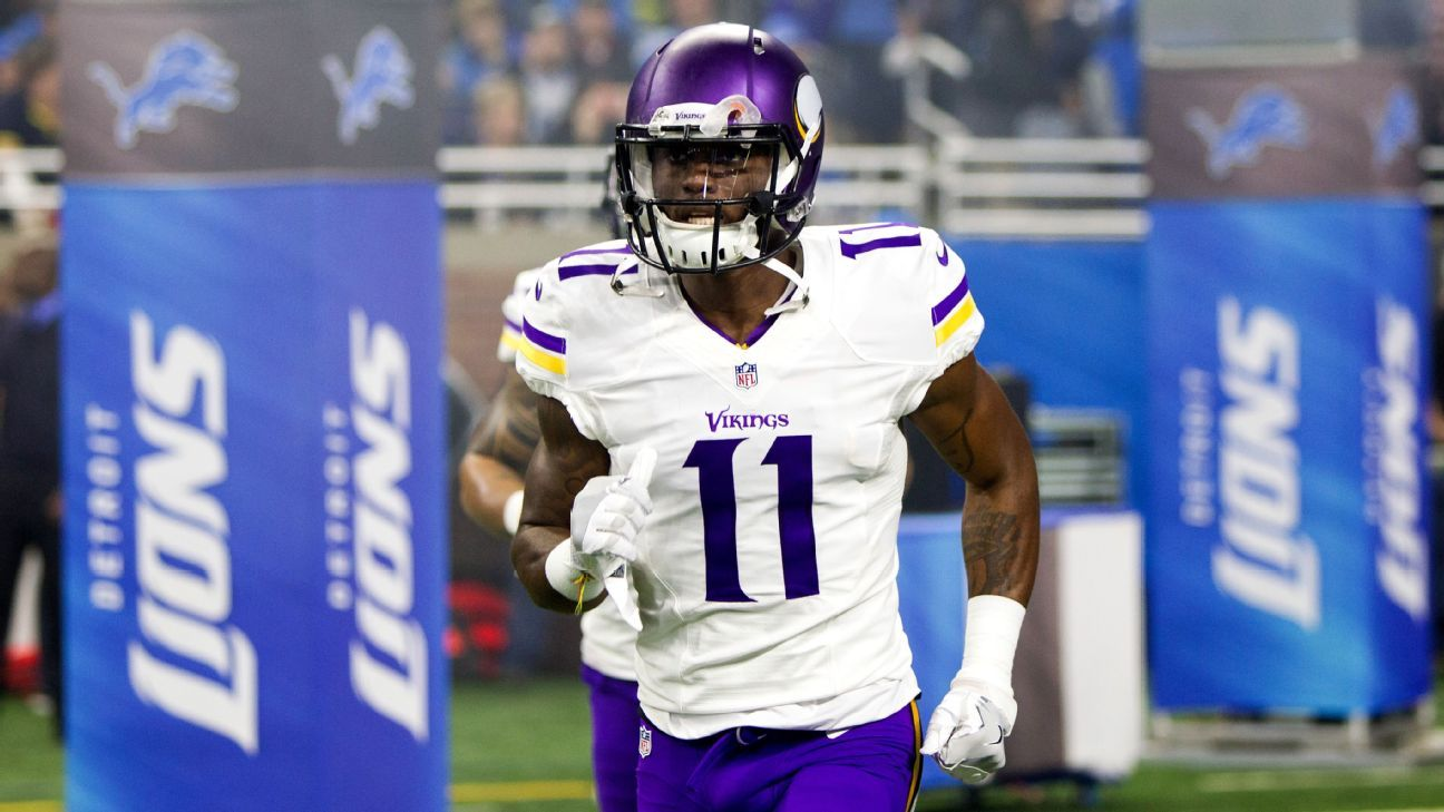Sources: Vikings re-sign Treadwell for WR depth