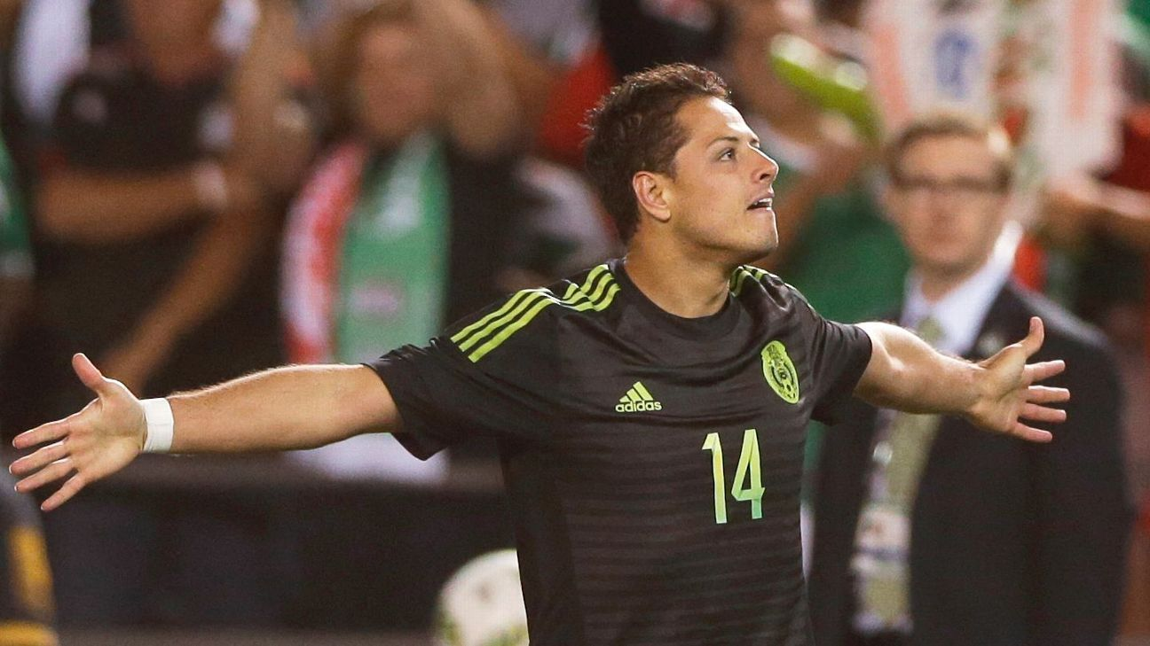 95a030b11 World Fame 100 - Javier  Chicharito  Hernandez is on his way to being an  all-time great for Mexico
