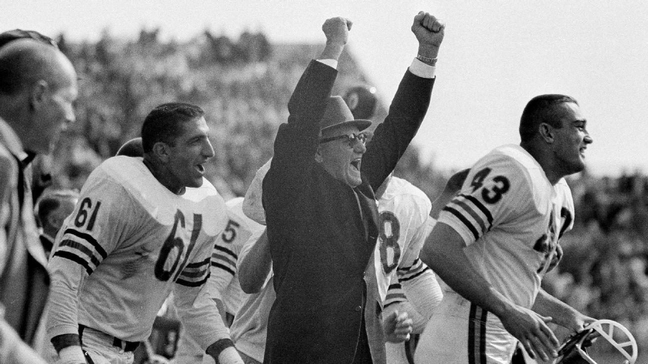 On this date  George Halas retires an an NFL head coach. - Stats   Info-  ESPN 9b2a14e2e