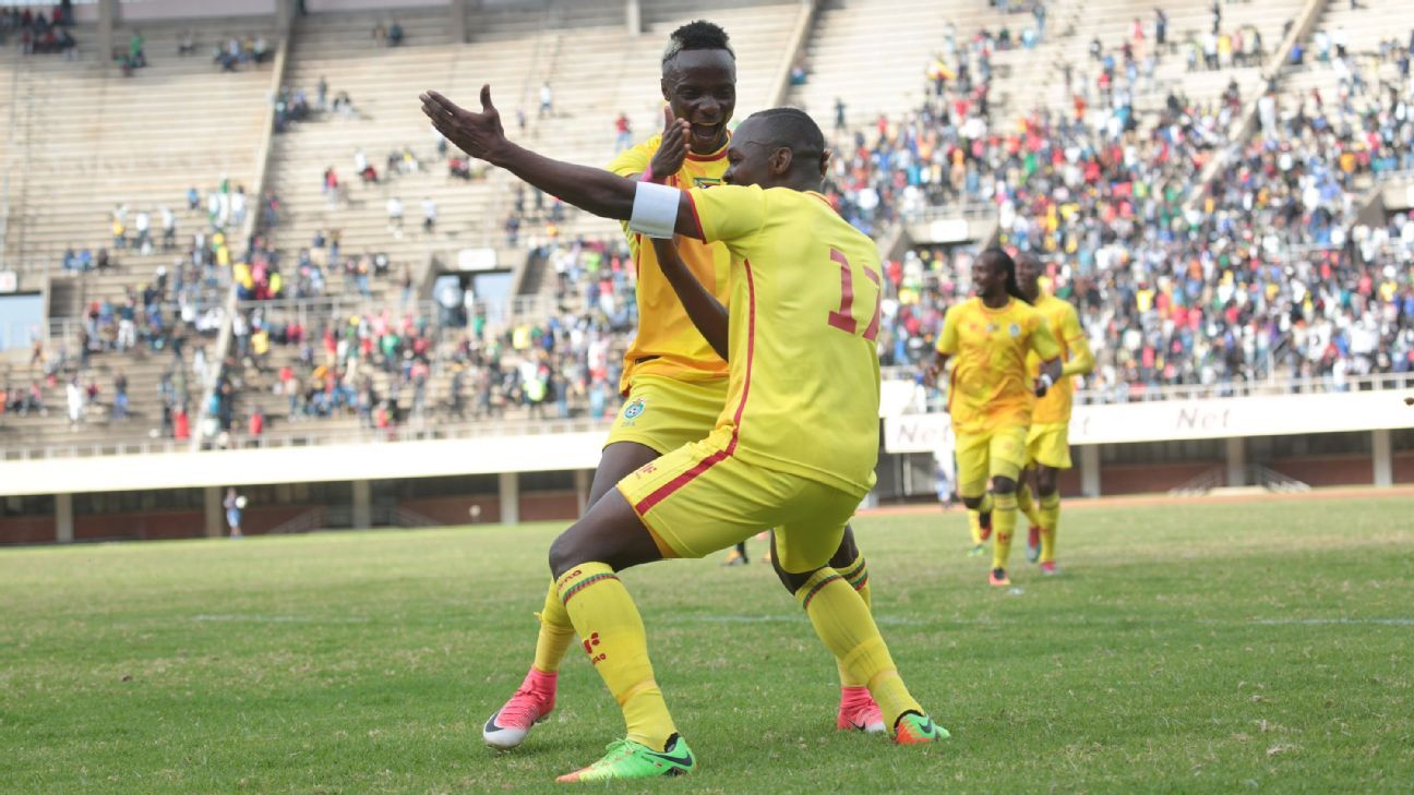 Injury-hit Zimbabwe face tough challenge vs. Congo-Brazzaville
