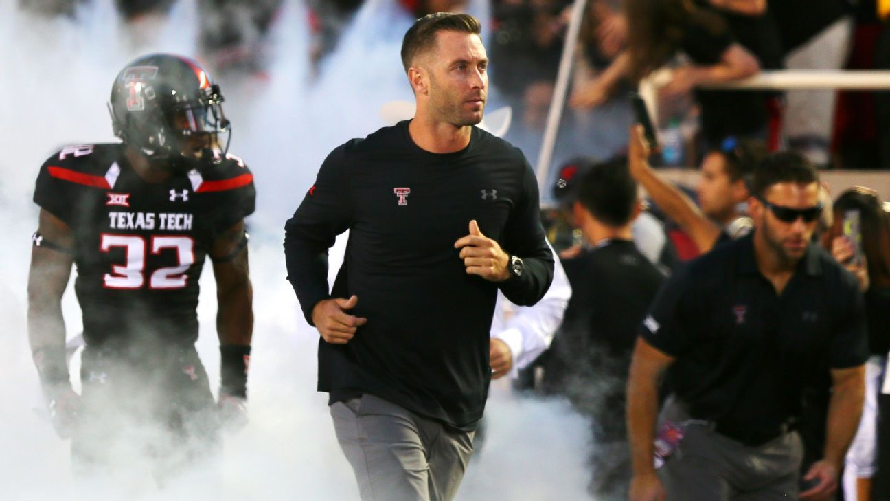 Kliff Kingsbury will receive a four-year deal to coach Arizona, capping a one-and-a-half-month stretch during which he was fired as coach of Texas Tech, hired as USC's offensive coordinator and then tabbed to lead his first NFL team.