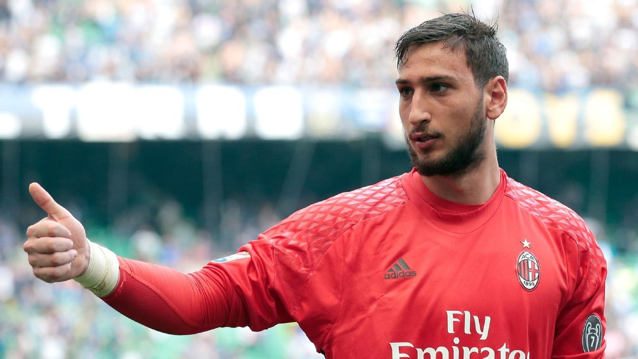 Gianluigi Donnarumma Signs Four Year Deal To Stay At Ac Milan