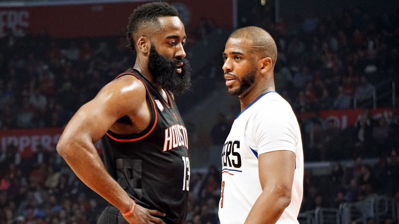 Zach Lowe On Chris Paul And James Harden Running The Houston Rockets Nba