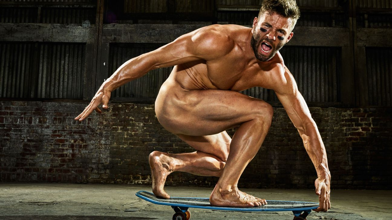 New England Patriots wide receiver Julian Edelman breaks down how he made  that Super Bowl catch -- Body Issue 2017