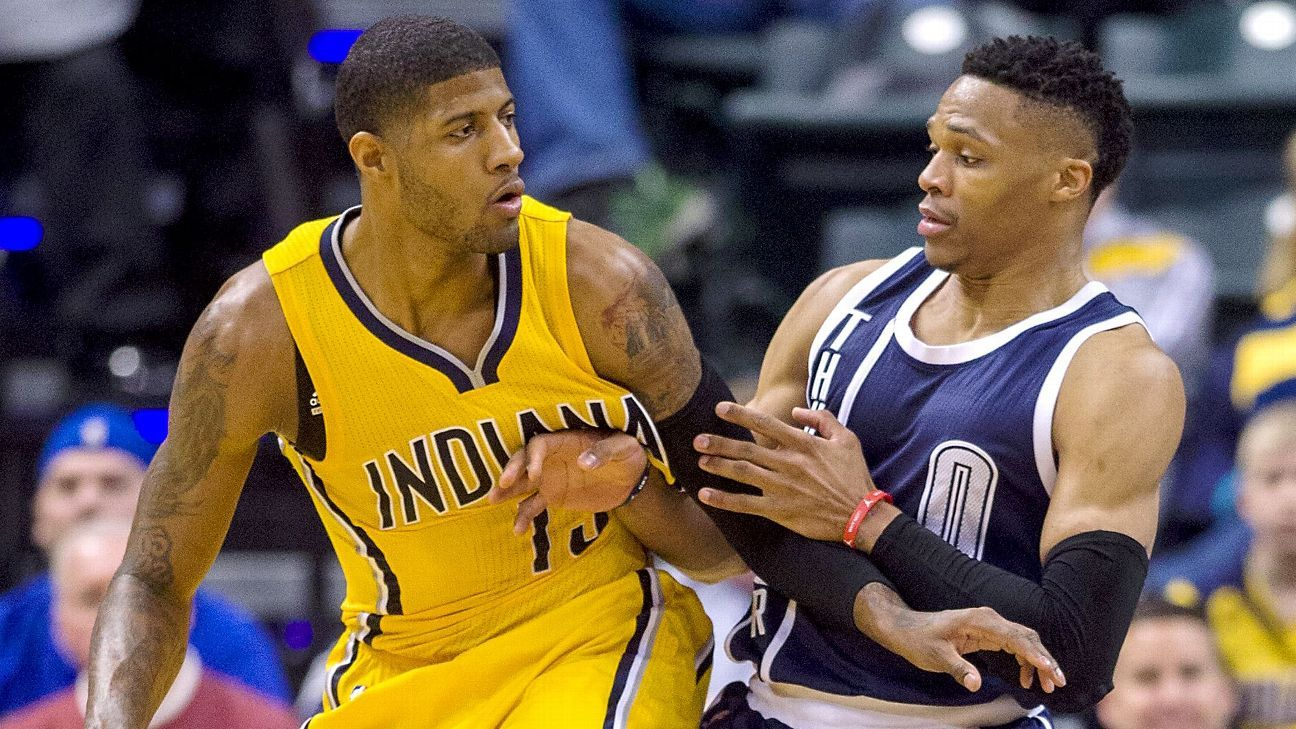 5be146f1d Paul George traded by Indiana Pacers to Oklahoma City Thunder