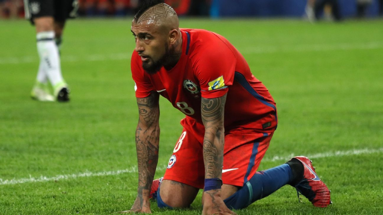 Vidal to retire from Chile after World Cup