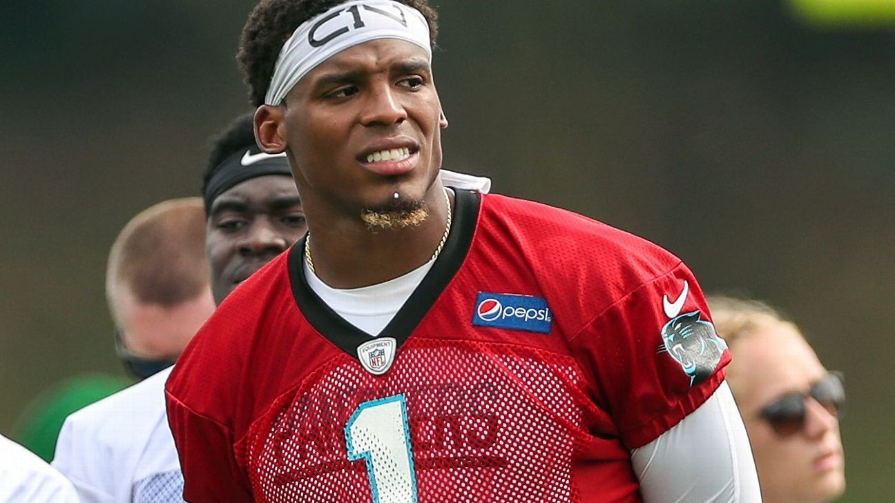 3b97c168d1bc Cam Newton of Carolina Panthers may stay sidelined for all of preseason