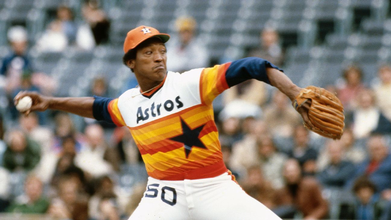 Houston Astros icon J.R. Richard, whose career was cut short by stroke in 1980, dies at age 71 - ESPN