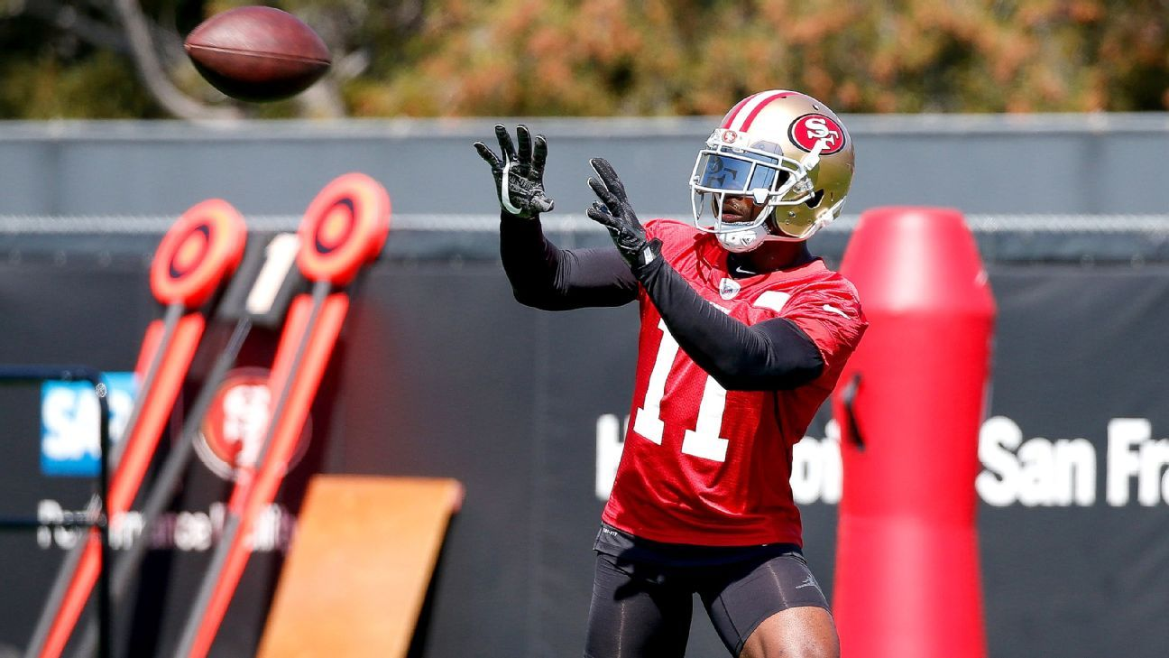 6c466f1885d United States Anti-Doping Agency bans Marquise Goodwin  San Francisco 49ers  wide receiver says he quit track