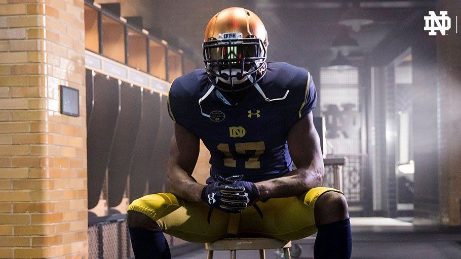 67f97eb7c Notre Dame Fighting Irish unveil new  Rockne Heritage  alternate uniforms