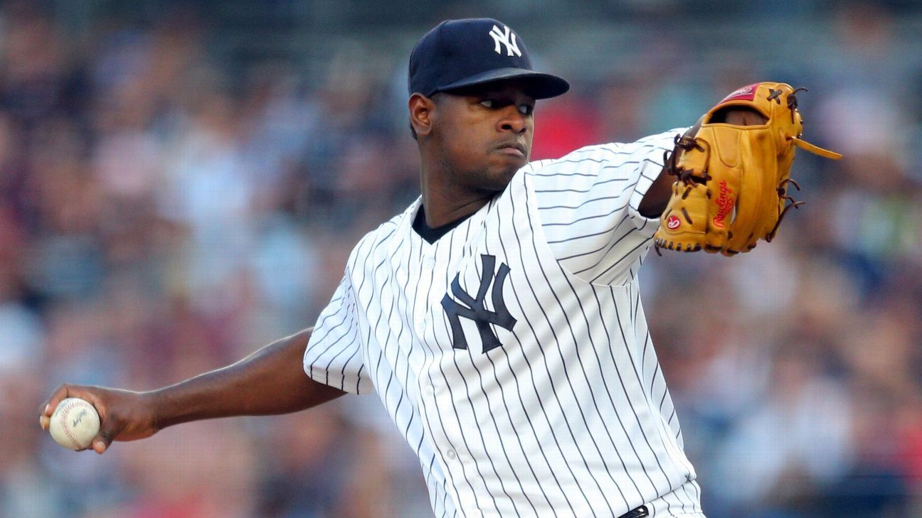 luis severino u0026 39 s playoff potential will be tested against