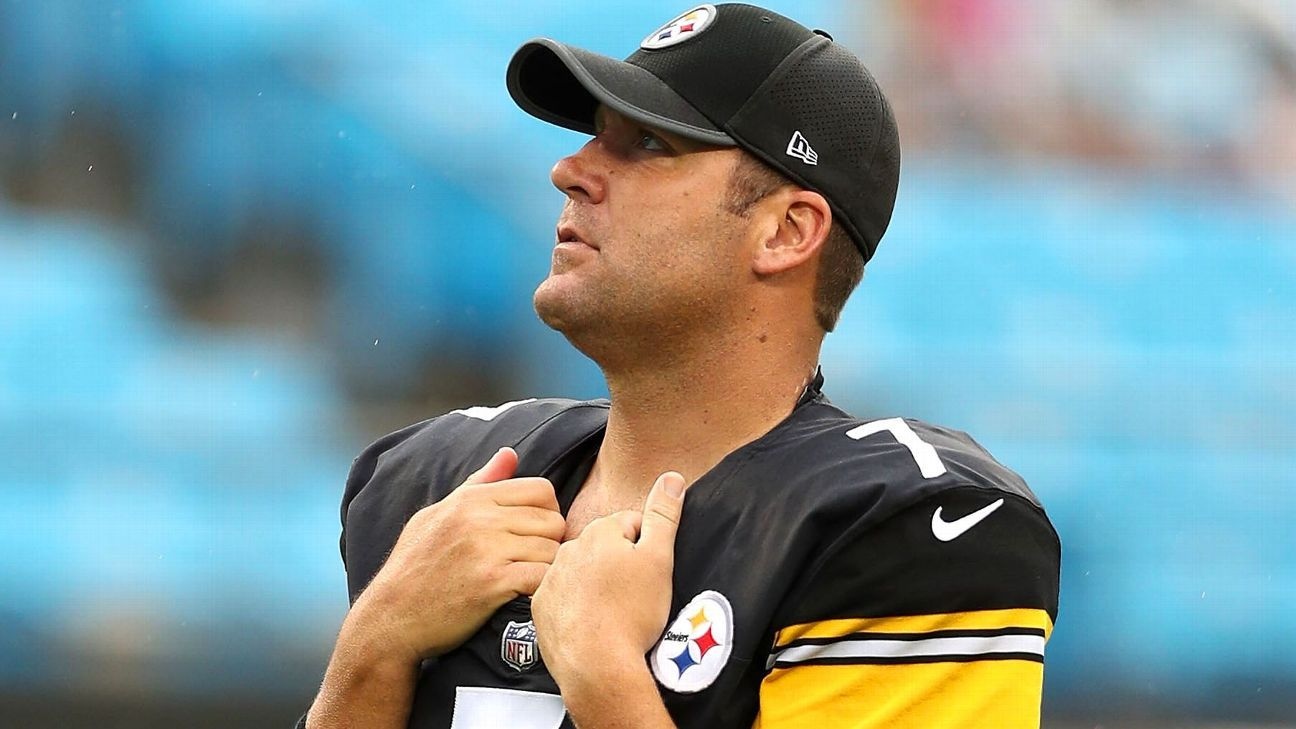 cab10340 Ben Roethlisberger regrets how Pittsburgh Steelers showed unity