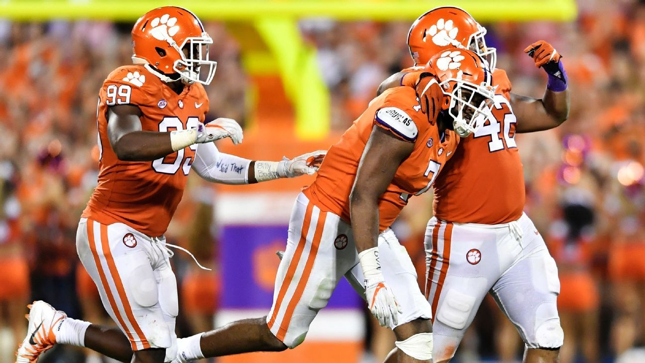 Clemson Tigers lead winners NFL draft early entry ab31435a8