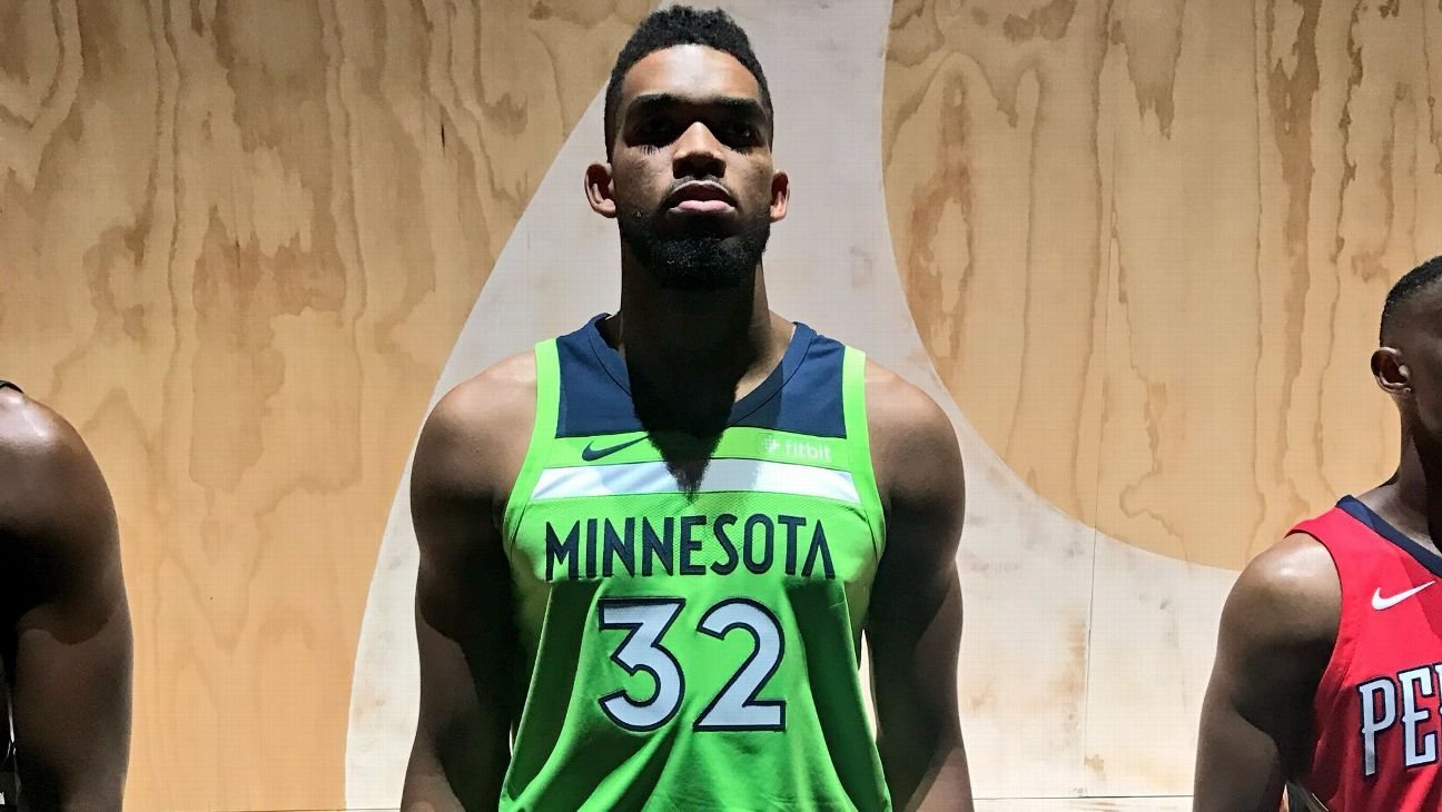 Check Out Minnesota Timberwolves New Alternate Uniforms
