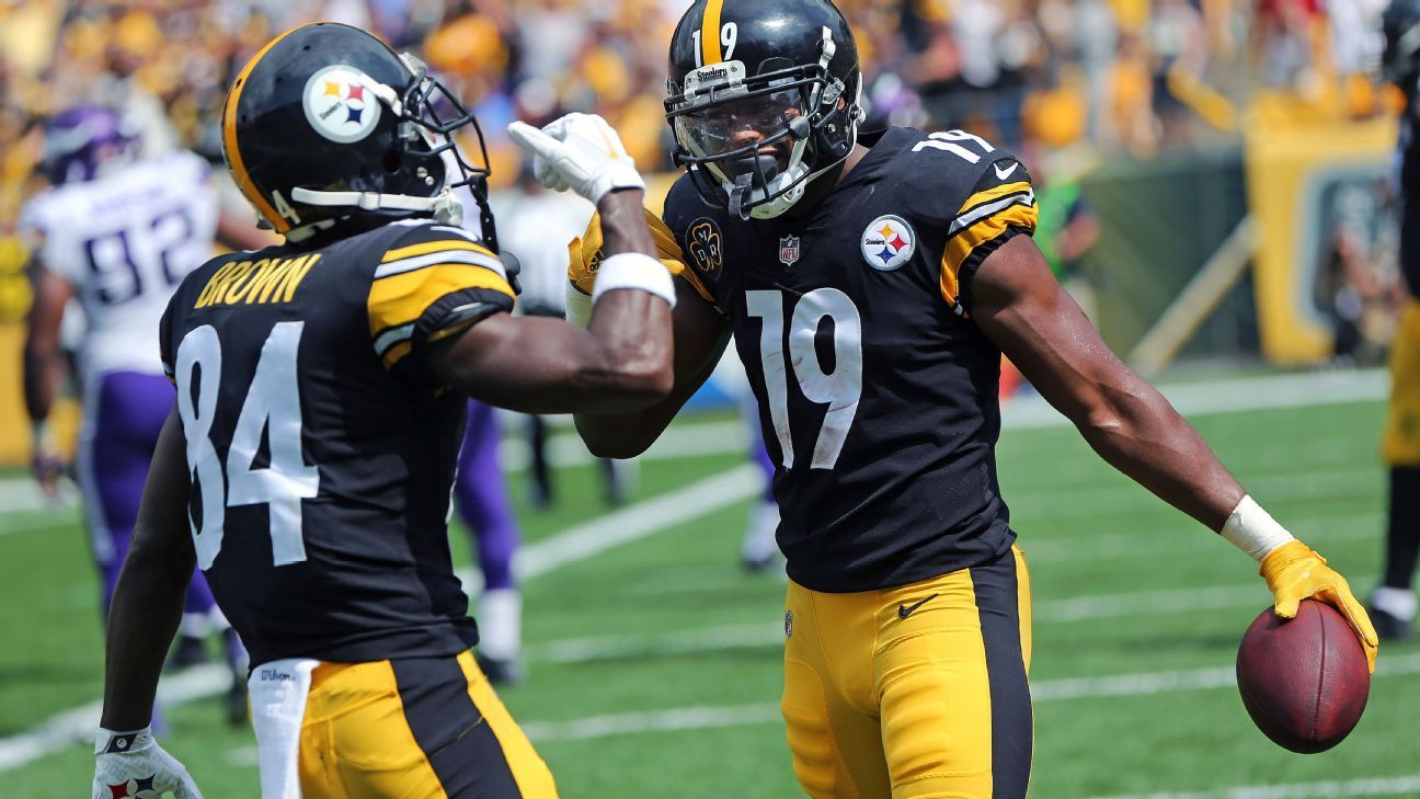 JuJu Smith-Schuster agrees with Jalen Ramsey: 'I'll never be Antonio Brown'