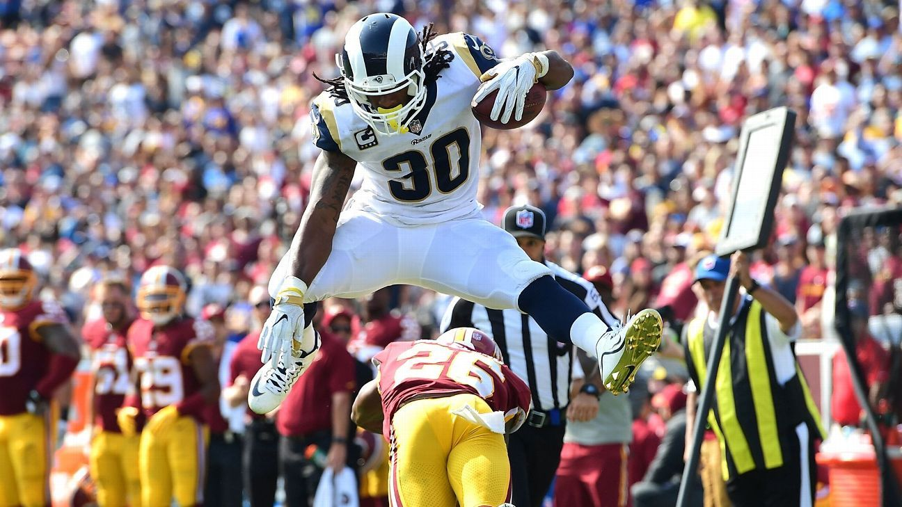 2e707b87ff5 Ranking Todd Gurley s hurdles in honor of the Olympics - Los Angeles Rams  Blog- ESPN