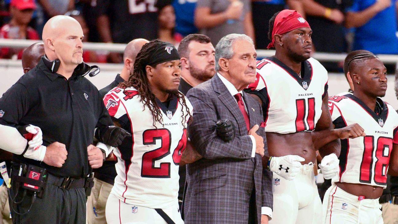 c1924013e Atlanta Falcons take proactive approach to social change - Atlanta Falcons  Blog- ESPN