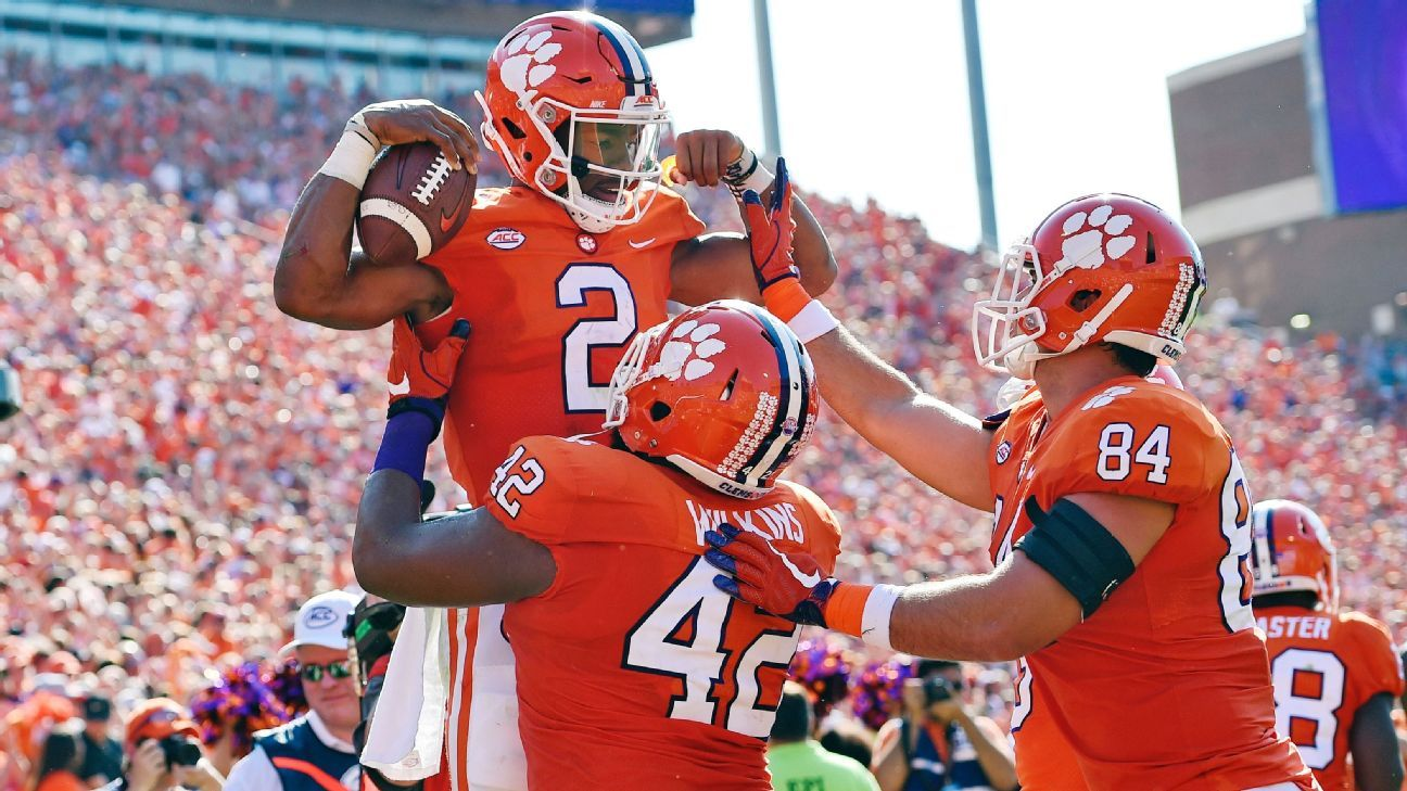 2c736a261 Life after Deshaun  The reinvention of the Clemson offense