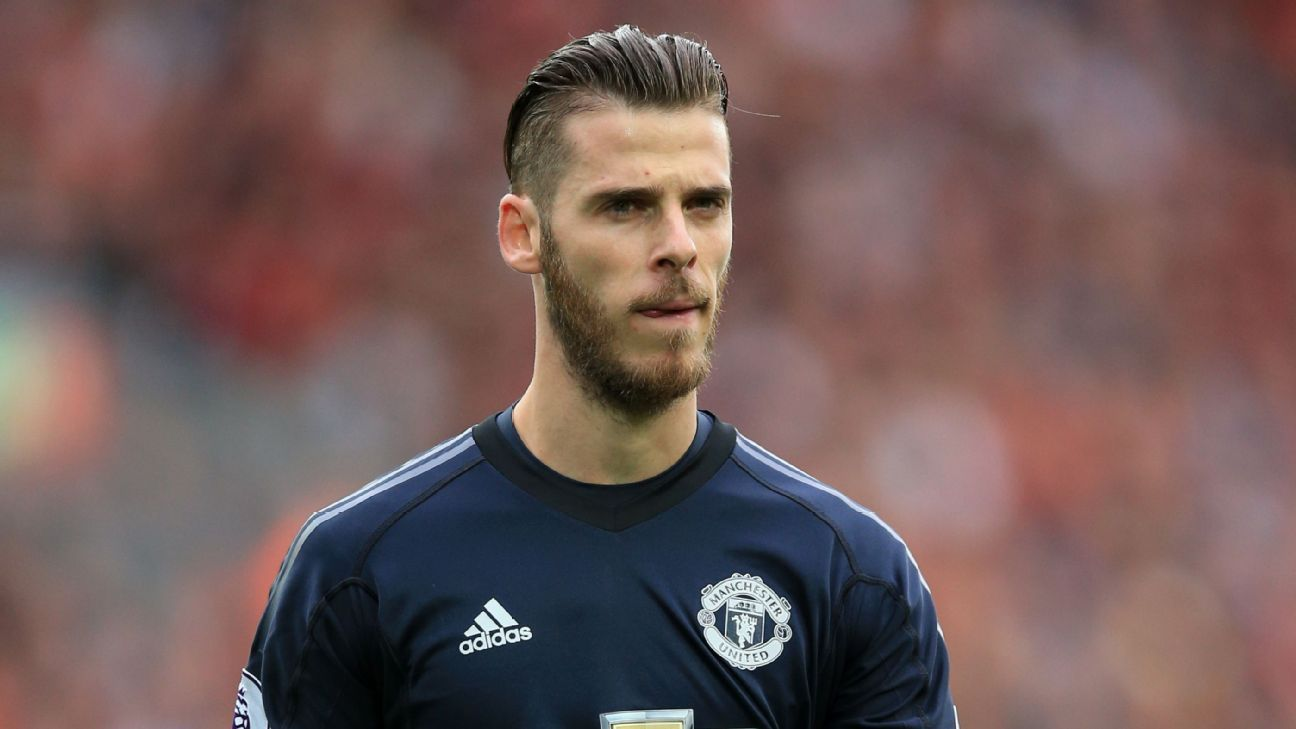 e60ffb457a5 Where s David De Gea  Man United No. 1 not on list of FIFA s Best  goalkeepers